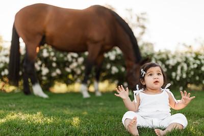 Maharaj Family Session Horse Ranch A025