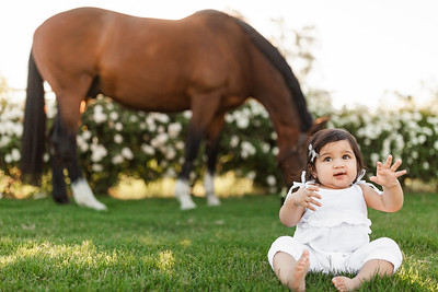Maharaj Family Session Horse Ranch A026
