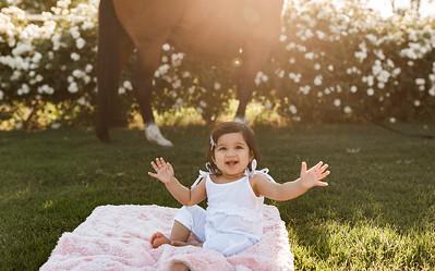 Maharaj Family Session Horse Ranch A018