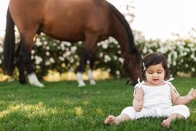 Maharaj Family Session Horse Ranch A028