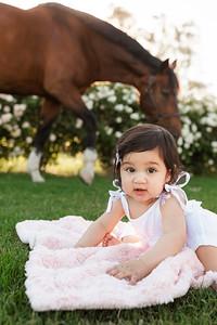 Maharaj Family Session Horse Ranch A020