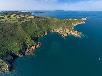 Sark NE coast panorama