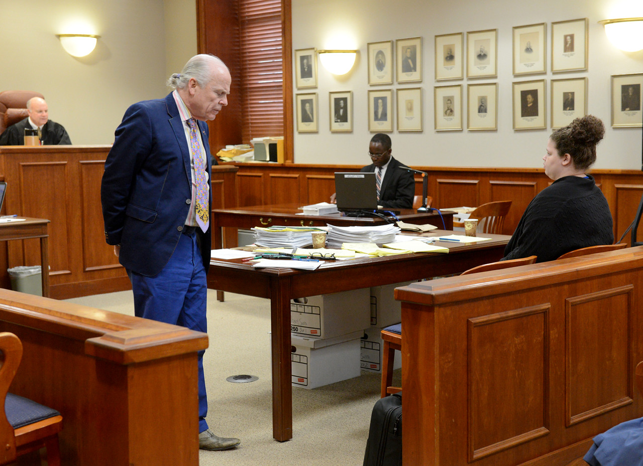 Tania Barricklo-Daily Freeman                      after jury leaves for the day, discussions with Williams