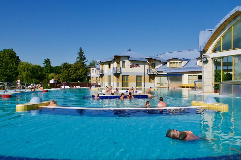 Sárvárske kúpele / vodný park
