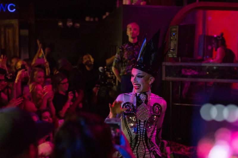 "Sasha Velour takes the stage at her birthday party, ""Love, Velour"""