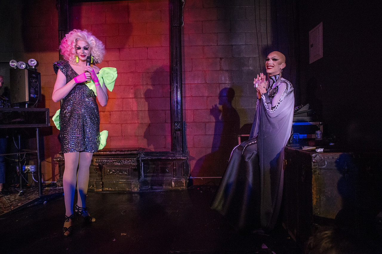Olive d'Nightlife shares her first memories of Sasha Velour in an intimate moment at Love, Velour.