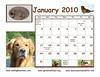 January bottom page