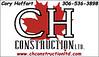 January Sponsor - CH Construction Ltd.