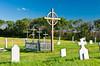 The metis cemetery in Batoche, Saskatchewan, Canada.