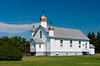 The Sacred Heart Ukrainian Catholic Church in Vonda, Saskatchewan, Canada.