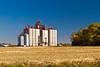 The Viterra inland grain storage terminal near Melfort, Saskatchewan, Canada.