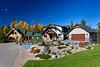 Resort homes and accomodation at the Elk Ridge Resort in lake country near Lake Waskesiu, Saskatchewan, Canada.