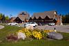 The Elk Ridge Resort main lodge building near Waskesiu Lake, Saskatchewan, Canada.