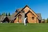 The award winning golf course at the Elk Ridge Resort at Lake Waskesiu, Saskatchewan, Canada.