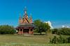 A Ukrainian Catholic Church near Saskatoon, Saskatchewan, Canada.