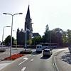 Hoofdstraat naar Parklaan en links Hoofdstraat, foto 2010 <br /> <br /> ref.nr: S1556