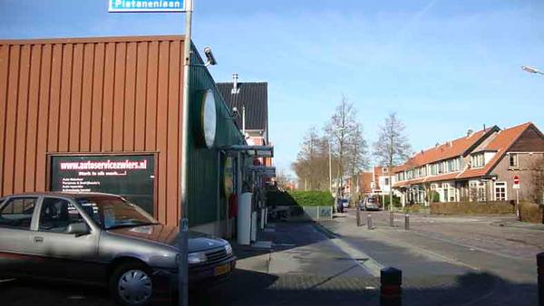 Platanenlaan met zicht op de Lindenlaan, foto 2012<br /> <br /> ref.nr: S1492
