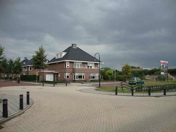 Papendrechtlaan vanuit de Teijlingerlaan, foto 2009<br />  <br /> ref.nr: S1217