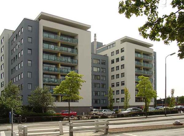 Parklaan flats Parkhove, foto 2009<br /> <br /> ref.nr: S1241
