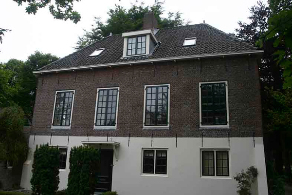 Baron van Heemstralaan 13 Rijksmonument Orangerie achter Huis ter Leede, foto 2010<br /> <br /> ref.nr: S1201