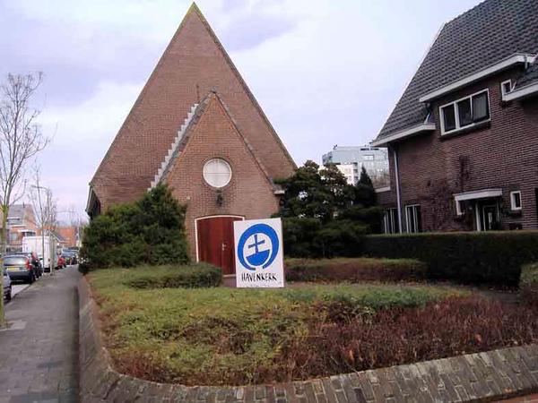 Bijweglaan 4, Christelijke Gereformeerde Kerk of Havenkerk, foto 2008<br /> <br /> ref.nr: S0009