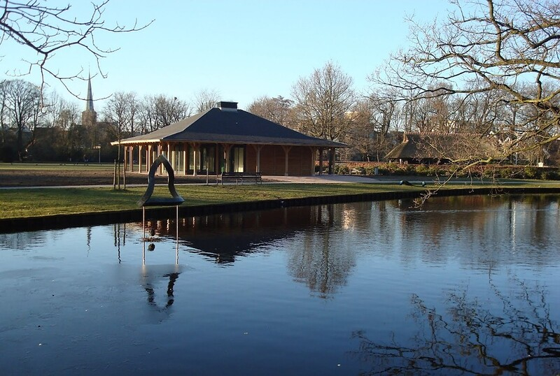 Paviljoen Sassennest kort na oplevering foto: 2010<br /> <br /> ref.nr. S1586