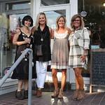 Jessica Moreland, Vanessa Pfeiffer, Gina Thomas and Lisa Hiatt.