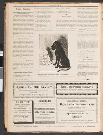 Pliuvium, no. 10, 1906
