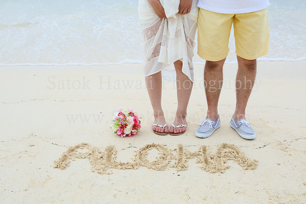 Honeymoon Sample Pictures by Satok Hawaii Photography