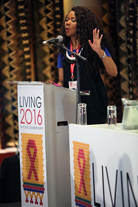 21st International AIDS Conference (AIDS 2016), Durban, South Africa. Plenary Chair : Prudence Mabele The Positive Leadership Summit  - Room M22 Photo©International AIDS Society/Abhi Indrarajan