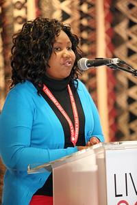 21st International AIDS Conference (AIDS 2016), Durban, South Africa. The Positive Leadership Summit  - Room M22 Speaker : Janet Bihla Photo©International AIDS Society/Abhi Indrarajan