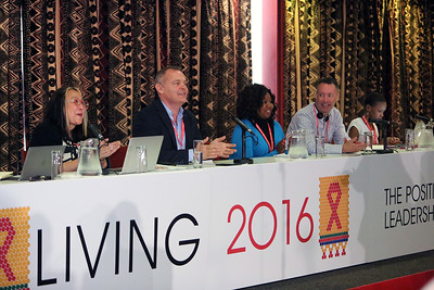 21st International AIDS Conference (AIDS 2016), Durban, South Africa. The Positive Leadership Summit  - Room M22 Speakers at the Leadership Summit Photo©International AIDS Society/Abhi Indrarajan