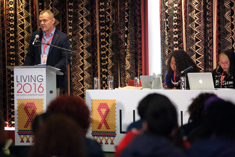 21st International AIDS Conference (AIDS 2016), Durban, South Africa. Saturday 16th July 2016 The Positive Leadership Summit  - Room M22 Speaker : Shaun Mellors Photo©International AIDS Society/Abhi Indrarajan
