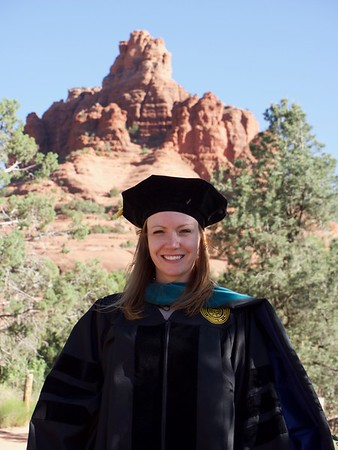 Saturday Graduation Photo & Sedona Beauty