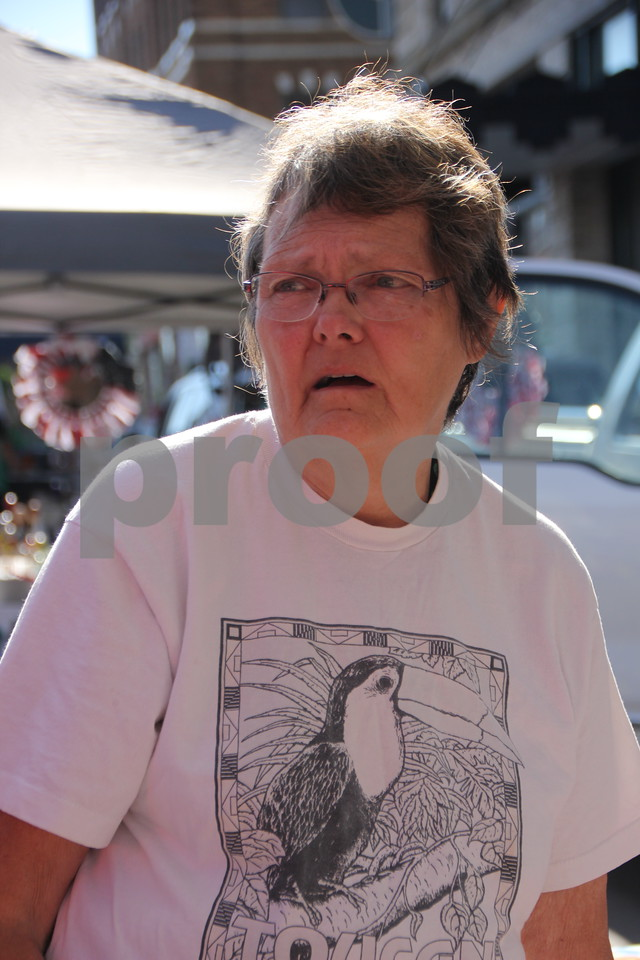 Market On Central took place on Saturday, July 9, 2016 in Fort Dodge. Seen here is: Diana Erickson, one of several vendors at the event.