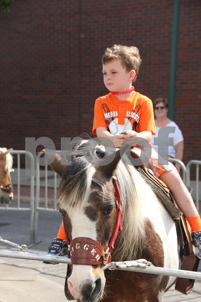 Saturday, June 11, 2016, Central Avenue in Fort Dodge held the Market On Central. Among the vendors at the event is the very popular Lil' Redneck Ponies pony rides . Shown is: Ted Steckis.