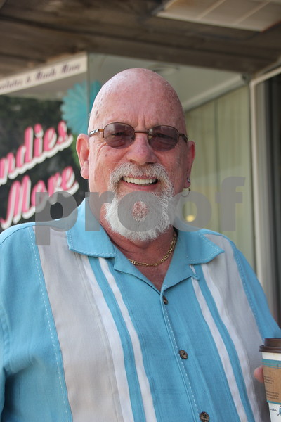Saturday, June 11, 2016, Central Avenue in Fort Dodge held the Market On Central. While checking out everything available at the event, this gentleman stopped long enough to get his picture taken. Seen is: Dr. Richard Votta.