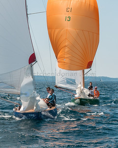 NM Sloops | George/Bear  Peet (l) & Dave Irish (r)