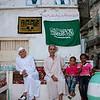 Saudi Arabia, Mecca Region, Jeddah, Family In The Old Town