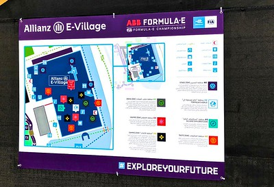 "The ""E-Village"" had food concessions and all kinds of racing exhibits and the concert area."