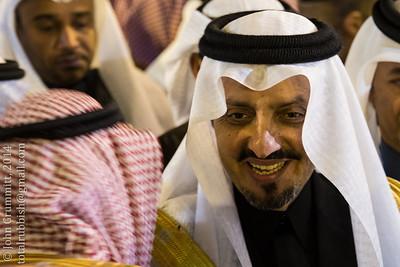 Governor of Asir Province, Prince Faisal bin Khalid bin Abdul Aziz al Saud.