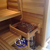 Sauna in Monument, CO:<br /> *Western Red Cedar paneling horizontally<br /> *Standard benches<br /> *4 bench levels<br /> *Custom heater guard<br /> *Handrail