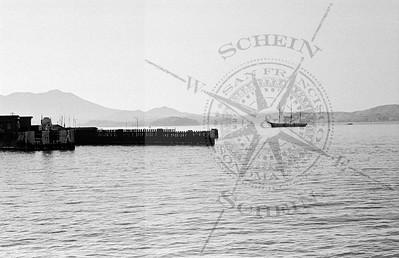 Sausalito Pier & Dock  with Mt. Tamalpias