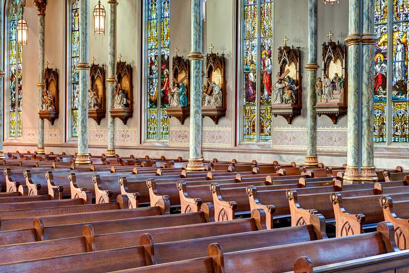 Cathedral Of St  John The Baptist Savannah, GA-13
