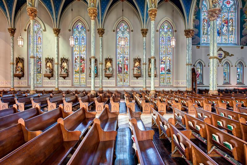 Cathedral Of St  John The Baptist Savannah, GA-5
