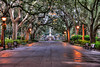 Forsyth Square Savannah in the Morning