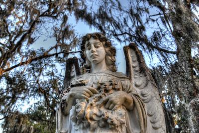 Angel in Bonaventure Cemetary