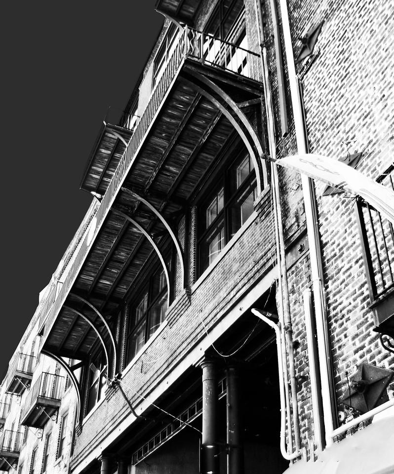 Overhead Balcony