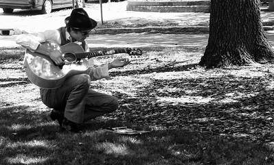 Musician In The Park
