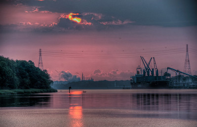 savannah-river-sunrise-hdr